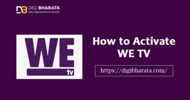 Activate We TV